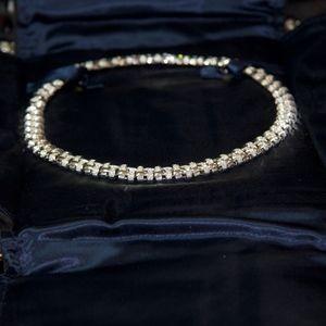 Tiffany & Co 18kt Gold 7 Carat Diamonds 16 Inch